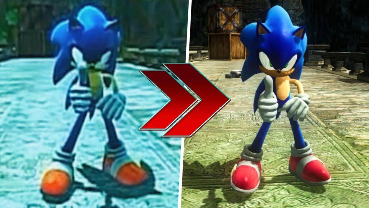 Sonic 2006 TGS 2005 Alpha Build RECREATED!