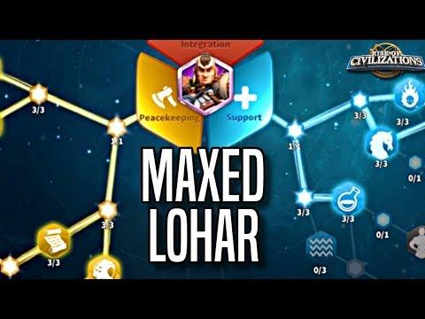 Maxing Lohar | INSANE Rage Generation - Tanking Talent Tree Build | Rise Of Civilizations