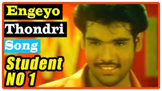 Student No 1 Tamil Movie | Songs | Engeyo Thondri Song | Nassar wants Sibi to become lawyer