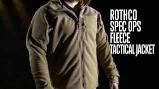 Special Ops Tactical Fleece Jacket - Product Breakdown