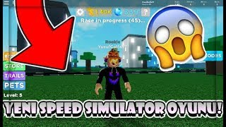 💥 YENİ SPEED SIMULATOR OYUNU & TÜM KODLAR!! 😱 | Legends Of Speed All Codes | Roblox Türkçe