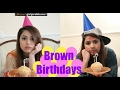 Brown Birthdays
