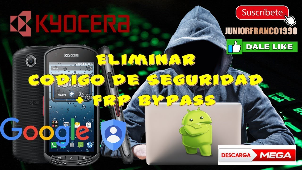 Hard reset + FRP bypass Moviles Kyocera E6560 serie DURAFORCE , Serie  HYDRO, Brigadier, Milano