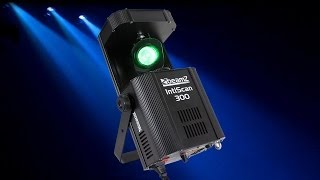 Beamz IntiScan300 Colour LED Scanner Disco Light Moving GOBO Party DJ Lighting
