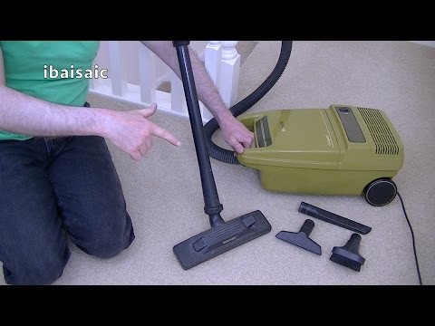1980s Hoover Compact S3196 Vacuum Cleaner Unboxing & First Look