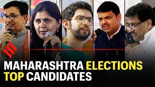 Maharashtra election: Here is the list of top candidates