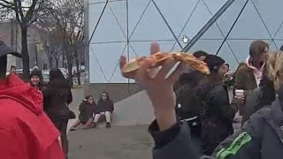 HE WILL NOT DIVIDE A PIZZA
