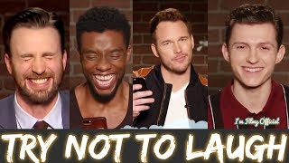 Avengers: Infinity War Bloopers and Funny Moments  Try Not To Laugh 2018