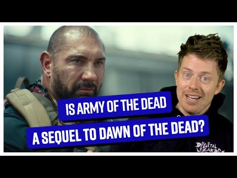 Is Zack Snyder's Army of the Dead a sequel to Dawn of the Dead? - Comicbook.com