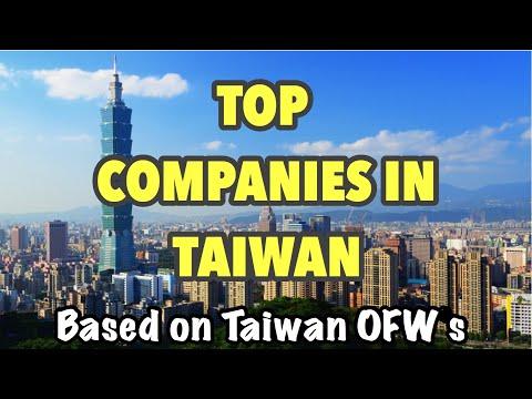 TOP COMPANIES IN TAIWAN AYON SA ATING MGA OFWs | Factory Worker In Taiwan