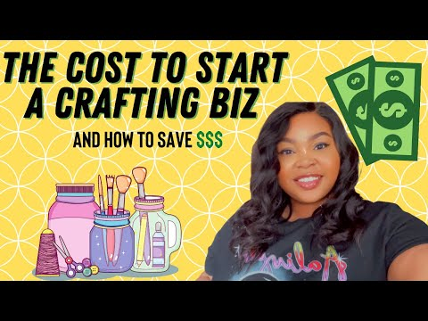 THE COST TO START A CRAFTING BUSINESS – HOW TO SAVE WITH CRICUT AND SILHOUETTE