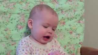 Baby Sings Star Wars Darth Vader Song (Imperial Theme)