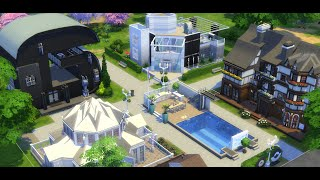 Willkommen im Youtuber Dorf #01 Die Sims 4 -YoutuberDorf- Let's Play The Sims 4