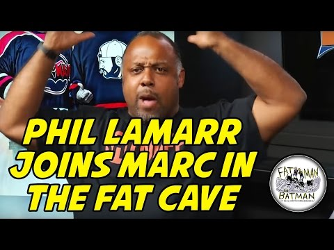 PHIL LAMARR JOINS MARC IN THE FAT CAVE - FAT MAN ON BATMAN 066