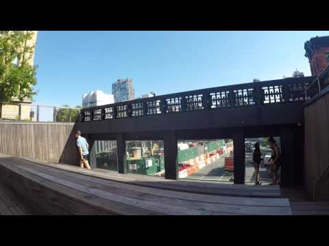 slowTV.network NYC High Line 10th Avenue Square and Overlook