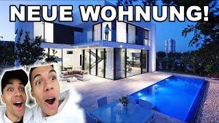 UNSERE NEUE WOHNUNG !!! (ROOMTOUR) | PrankBrosTV