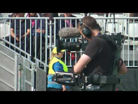 World Pipe Band Championships 2017 - BBC Video Cameras.