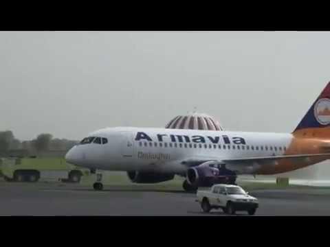 Видео 7. Первый самолёт авиакомпании Армавиа