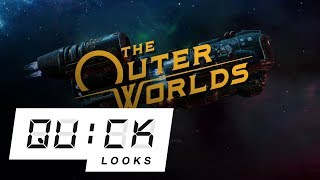 The Outer Worlds: Quick Look EX (10/16/2019) (Video Game Video Review)