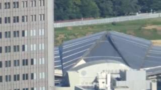 新国立競技場(Tokyo 2020 Olympic stadium)の建設状況(2016年8月7日)