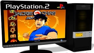 PCSX2 1.5.0 PS2 Emulator - Jackie Chan Adventures (2004). Gameplay. Test run on PC #1