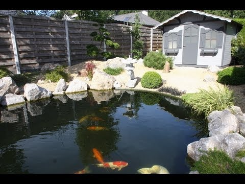 Airlift koi pond example 3 youtube for Airlift koi pond