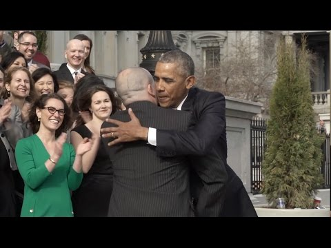 Thumbnail: Many Goodbyes For Obama In Last Days Of Presidency
