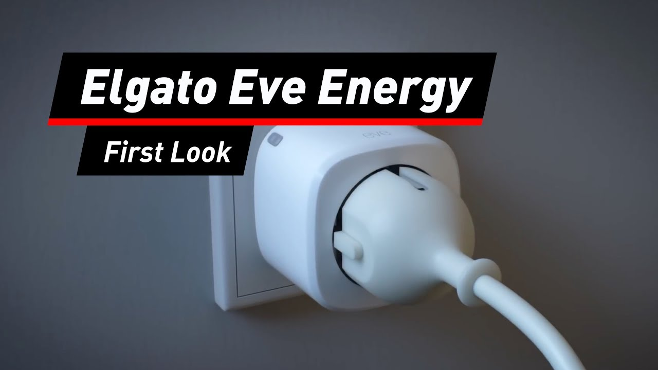 smarte steckdose eve energy optimal f r apple homekit youtube. Black Bedroom Furniture Sets. Home Design Ideas