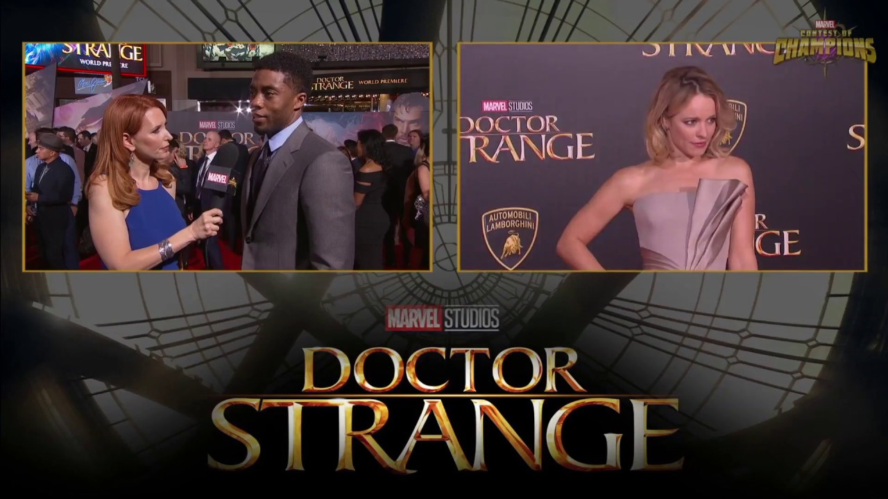 Chadwick Boseman on Exploring the Black Panther at Marvel's Doctor Strange Red Carpet Premiere
