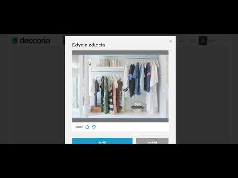 Jak dodać aranżację w Deccoria.pl - krok drugi