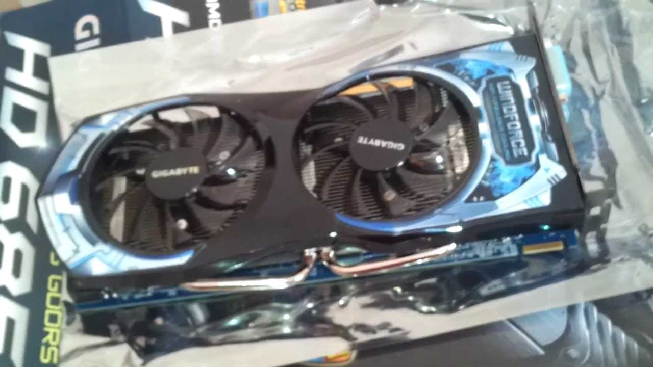 Gigabyte Radeon HD6850 (GV-R6850C-1GD) - YouTube