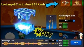 Archangel Cue in Just 159 cash Miniclip 8 ball pool