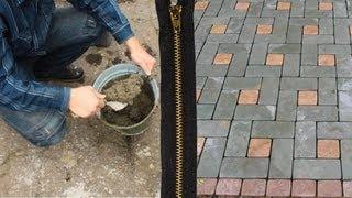 Тротуарная плитка своими руками(В этом видео я показываю как можно делать тротуарную плитку своими руками в домашних условиях. ..., 2012-12-01T18:02:14.000Z)