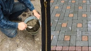 Тротуарная плитка своими руками(, 2012-12-01T18:02:14.000Z)
