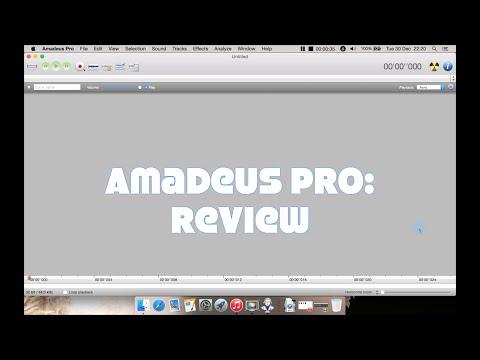 Amadeus Pro Mac Audio Editor: Review