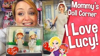 ❤ Barbie I Love Lucy | Lucy Gets a Paris Gown Barbie Doll Review ❤