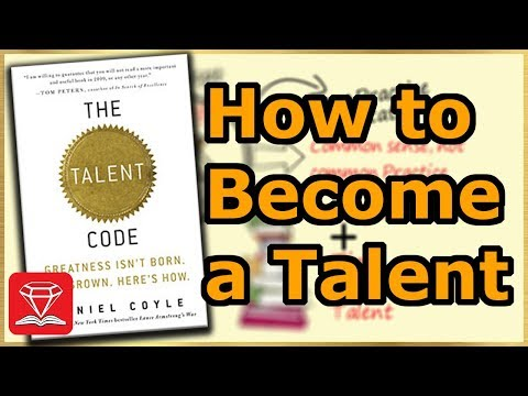 How To Become Great in Something | The Talent Code