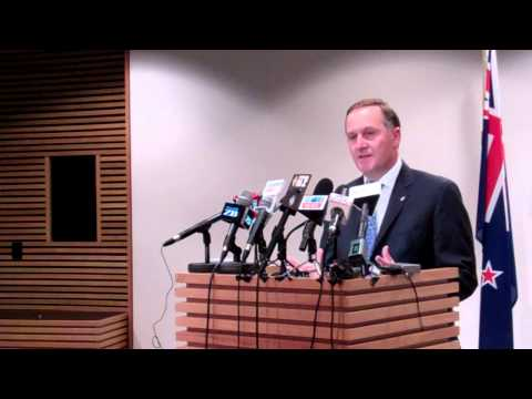 Unlawful GCSB Activities - NZ PM John Key Press Conference  24 Sept 2012