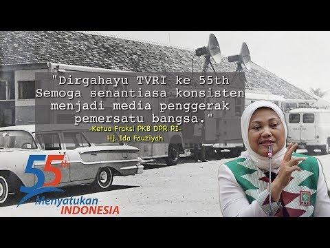 HUT TVRI ke-55th, Ida Fauziyah Sampaikan 3 Hal Standar yang Harus Dimiliki TVRI
