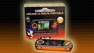 BLAZE Sega MegaDrive Ultimate Handheld Console Demonstration