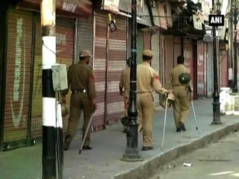 Unrest continues in Kashmir Valley, shutdown extended  - ANI News