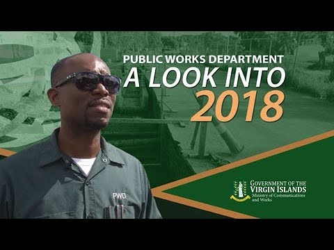 A Look at 2018 - Public Works Department
