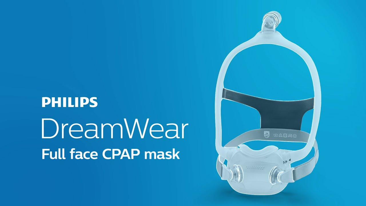496ab90ef DreamWear Full face mask CPAP mask: Changing the face of sleep apnea ...