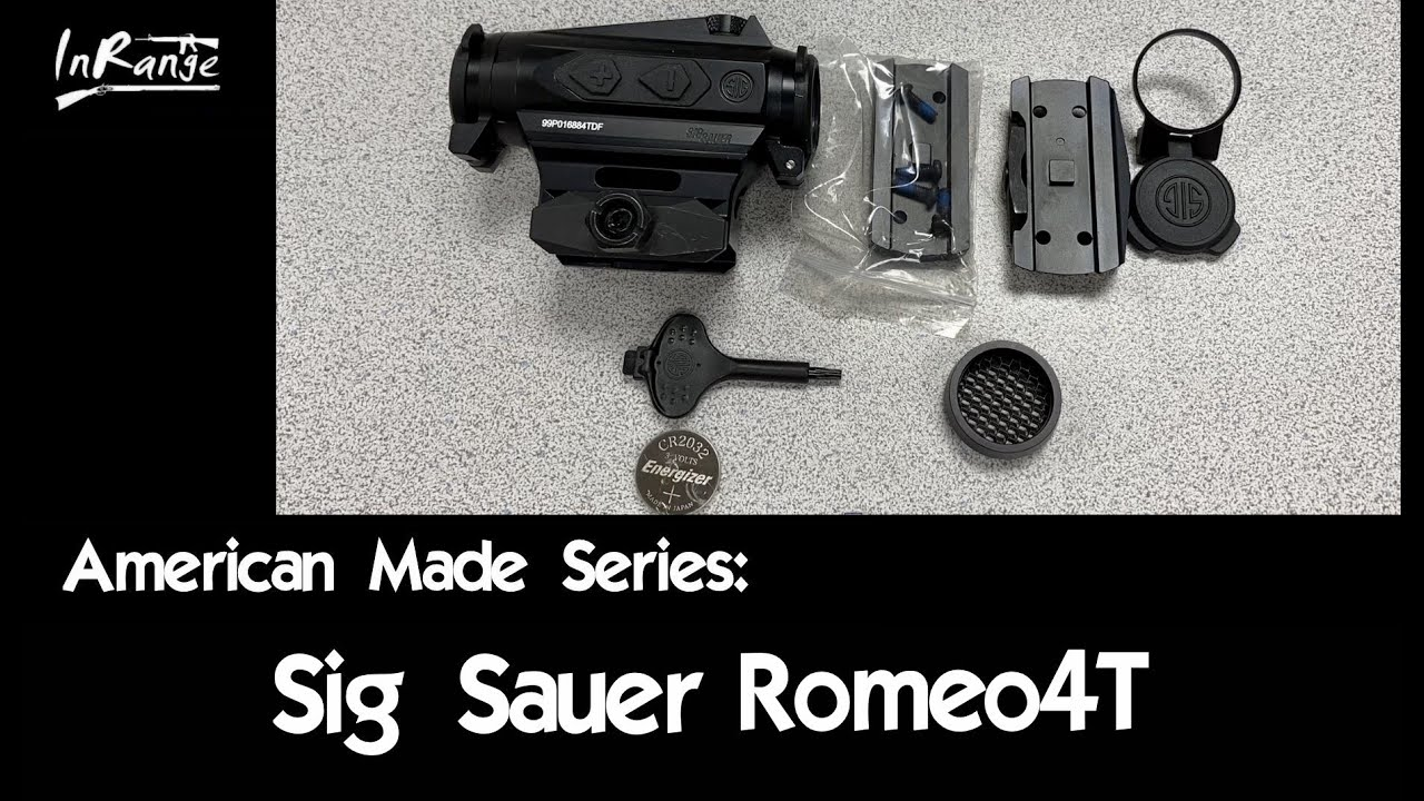 Sig Sauer Romeo 4T - American Made Series