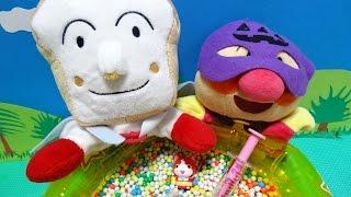 ジバニャン アンパンマン おもちゃ ボールプール ビーズ しょくぱんまん 妖怪ウォッチ♡アンパンおねえさん♡ thumbnail