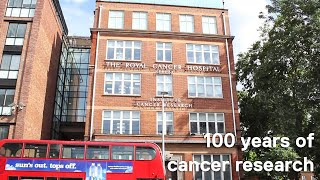 Here in london, our scientists at the institute of cancer research conduct world-leading every day. mission? to defeat cancer. find out more: ht...