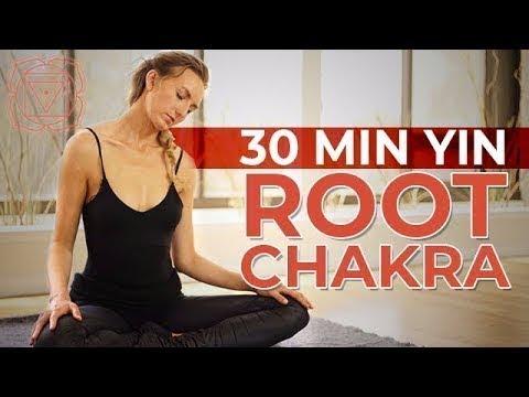 Root Chakra Yin Yoga - Calming, Relaxing, & Grounding Sequence