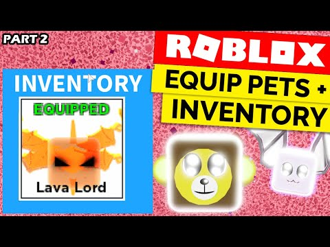 Pet Inventory Equipping Pets Roblox Egg Hatching System