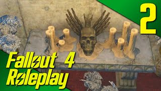 DEVIL WORSHIPERS?! - Fallout 4: Life Of A Merchant Roleplay Part 2 (PC | Mods)