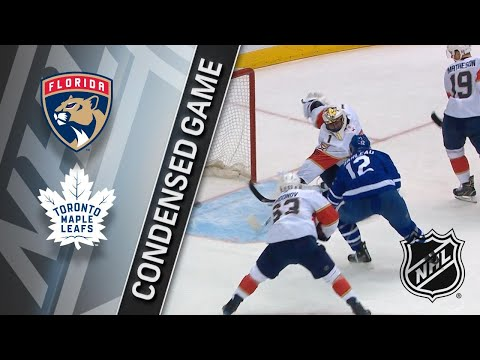 03/28/18 Condensed Game: Panthers @ Maple Leafs